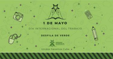 Convoca Federación Estudiantil Universitaria de la Universidad de Pinar del Río a participar en el desfile del 1 de Mayo