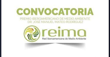 Convocatoria 2021-2022 del Premio Iberoamericano de Medio Ambiente «DR. José Manuel Mateo Rodríguez»