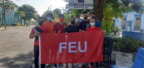 Crece la FEU en la Universidad de Pinar del Río
