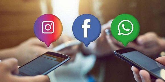 Usuarios reportan caída masiva de WhatsApp, Instagram y Facebook
